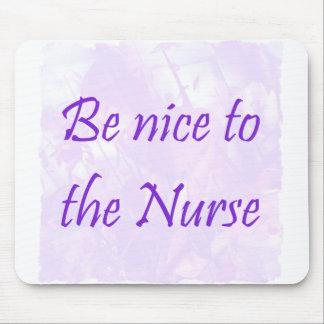 Cojín de ratón de la enfermera mouse pads