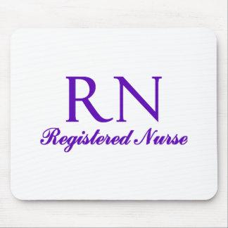 Cojín de ratón de la enfermera registradoa tapetes de raton