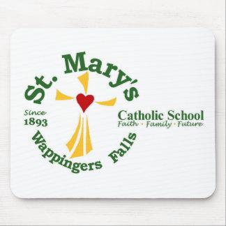 Cojín de ratón de la escuela católica de St Mary Alfombrilla De Ratones