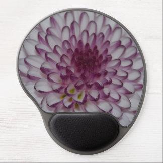 Cojín de ratón de la flor alfombrillas de ratón con gel