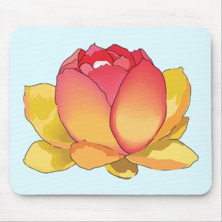 Cojín de ratón de la flor de Lotus sagrado Alfombrilla De Ratón