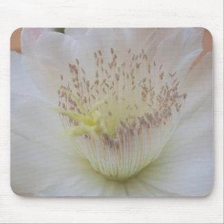 """Cojín de ratón de la flor del cactus de la """"paz"""" tapetes de raton"""