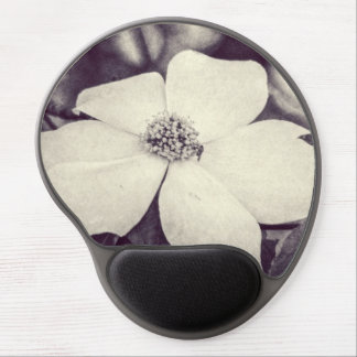 Cojín de ratón de la flor del Dogwood Alfombrillas De Ratón Con Gel
