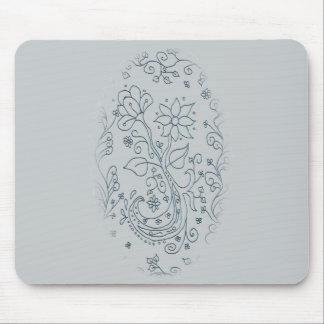 Cojín de ratón de la flor alfombrilla de raton