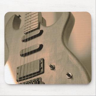 Cojín de ratón de la guitarra alfombrilla de ratón