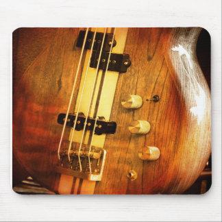 Cojín de ratón de la guitarra tapetes de raton