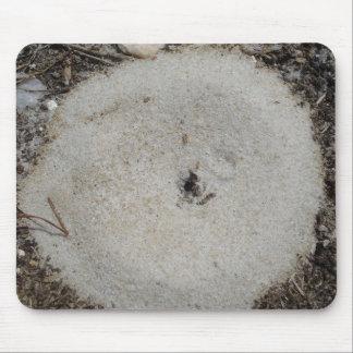 Cojín de ratón de la hormiga alfombrillas de raton