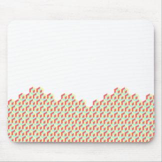 Cojín de ratón de la ilusión del cubo mousepad