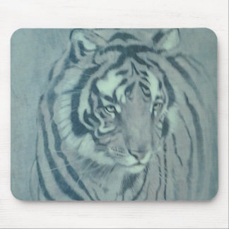 Cojín de ratón de la imagen del tigre tapetes de ratones