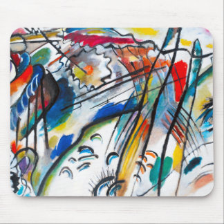 Cojín de ratón de la improvisación 28 de Kandinsky Mousepad