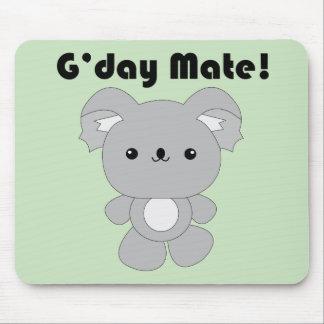 Cojín de ratón de la koala de Kawaii Tapete De Raton