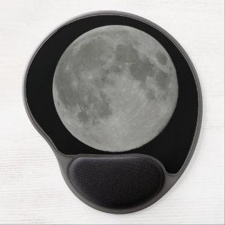 Cojín de ratón de la Luna Llena Alfombrillas De Raton Con Gel