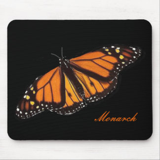 Cojín de ratón de la mariposa de monarca tapetes de ratón