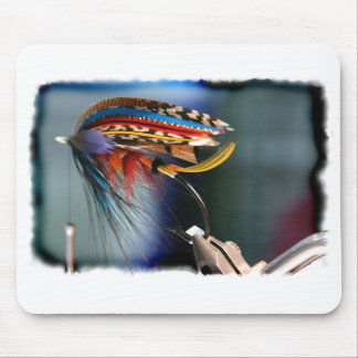 Cojín de ratón de la mosca de Spey Alfombrillas De Raton