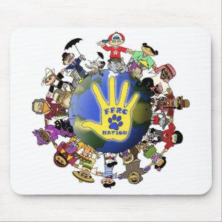 Cojín de ratón de la nación de FFRC Alfombrilla De Ratón