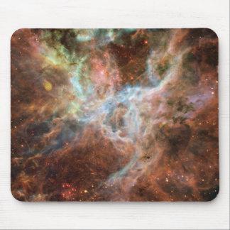 Cojín de ratón de la nebulosa del Tarantula Tapetes De Raton