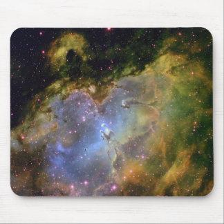 Cojín de ratón de la nebulosa alfombrilla de ratones