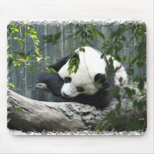 Cojín de ratón de la panda gigante alfombrillas de ratones