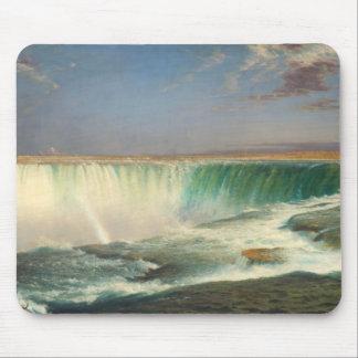 Cojín de ratón de la pintura de Niagara Falls Tapete De Raton