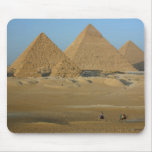 cojín de ratón de la pirámide tapetes de ratón