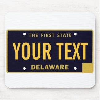 Cojín de ratón de la placa de Delaware Mouse Pads