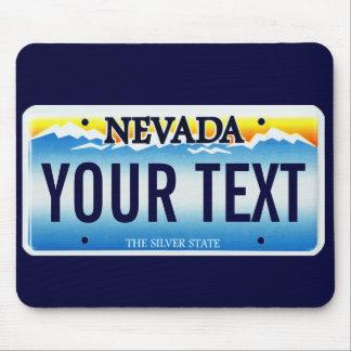 Cojín de ratón de la placa de Nevada Alfombrilla De Raton