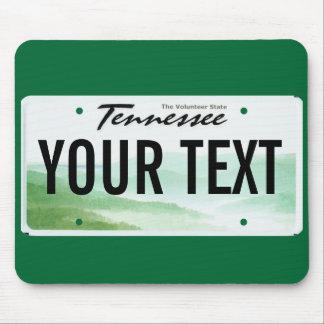 Cojín de ratón de la placa de Tennessee Mouse Pad