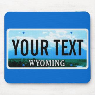 Cojín de ratón de la placa de Wyoming Tetons Alfombrilla De Raton