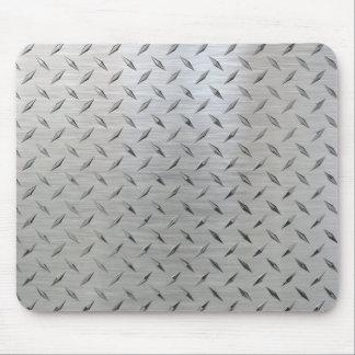 Cojín de ratón de la placa del diamante tapete de raton
