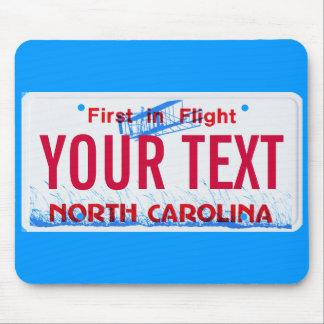 Cojín de ratón de la placa del vuelo de Carolina d Mousepads