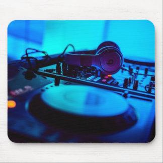 Cojín de ratón de la placa giratoria 2 de DJ Tapetes De Ratones