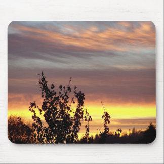 Cojín de ratón de la salida del sol de Idaho Alfombrillas De Ratones