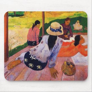 Cojín de ratón de la siesta de Gauguin Tapete De Ratones