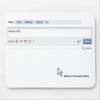 """Cojín de ratón de la situación """". """" tapetes de ratones"""