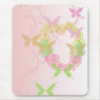 Cojín de ratón de la tarjeta del día de San Valent Alfombrilla De Ratones