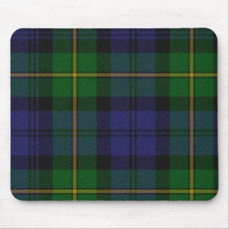 Cojín de ratón de la tela escocesa de tartán de Go Tapetes De Ratón