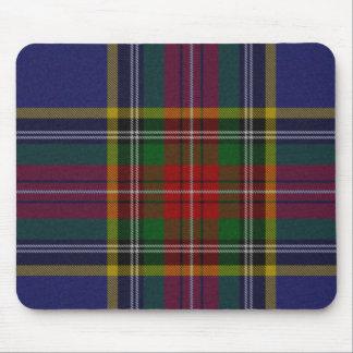 Cojín de ratón de la tela escocesa de tartán de Ma Alfombrillas De Ratones