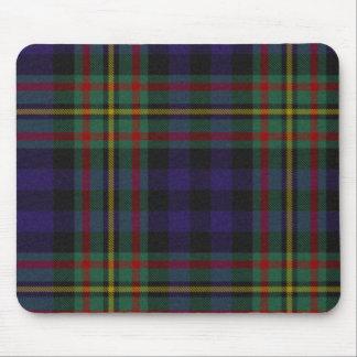 Cojín de ratón de la tela escocesa de tartán de Ma Alfombrillas De Raton