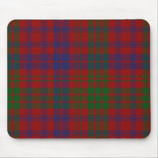 Cojín de ratón de la tela escocesa de tartán de Ro Alfombrillas De Raton