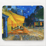 Cojín de ratón de la terraza de Van Gogh Café Tapetes De Raton