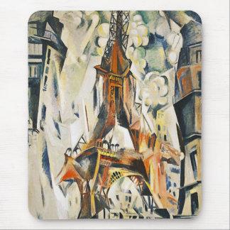 Cojín de ratón de la torre Eiffel de Roberto Delau Alfombrilla De Raton