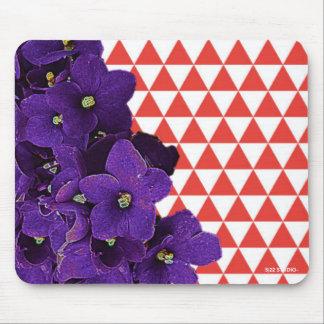 Cojín de ratón de la violeta africana tapete de ratón