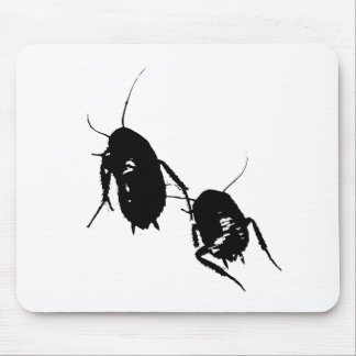 Cojín de ratón de las cucarachas que vaga tapetes de ratones
