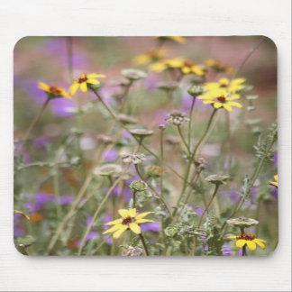 Cojín de ratón de las flores salvajes de Sanoran Alfombrilla De Ratón