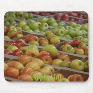Cojín de ratón de las manzanas tapetes de ratón