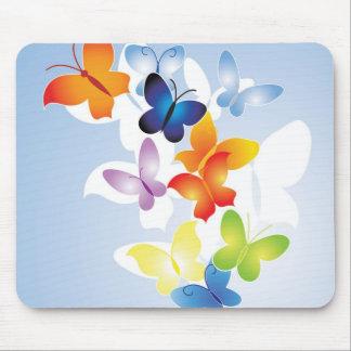 cojín de ratón de las mariposas j0433205 alfombrilla de ratón