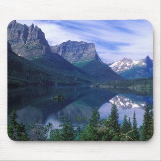 Cojín de ratón de las montañas de Montana Tapete De Ratones