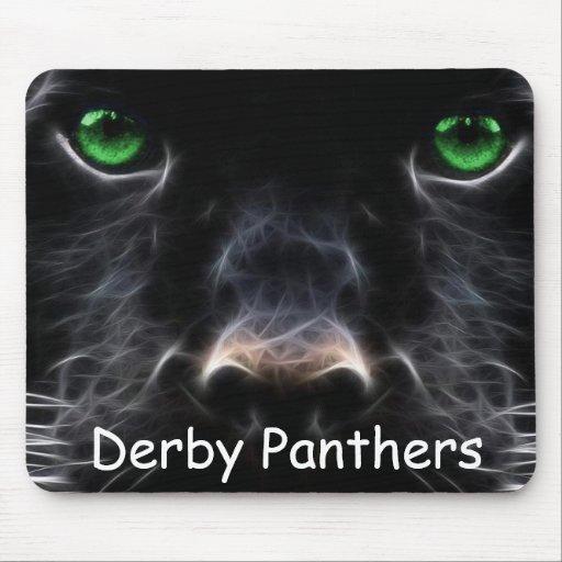 Cojín de ratón de las panteras de Derby Alfombrilla De Ratones