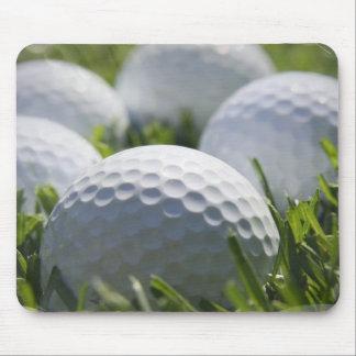 Cojín de ratón de las pelotas de golf tapete de raton
