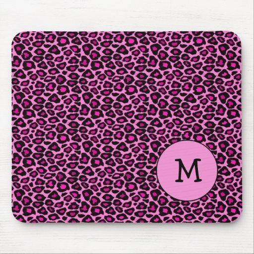 Cojín de ratón de las rosas fuertes del guepardo/d mousepads